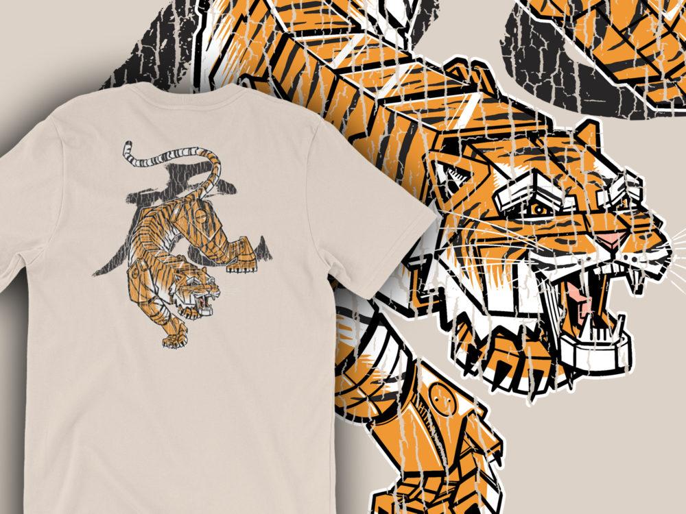 Tiger Soft Cream Shirt
